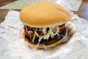 コロッケハンバーガー