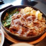 木曽路の「すき焼き定食」