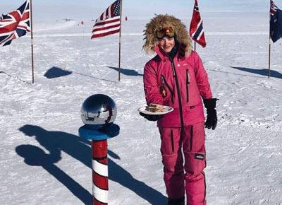 南極でサンドイッチ