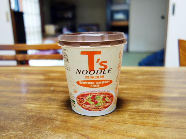 ニュータッチ T's NOODLE 酸辣湯麺
