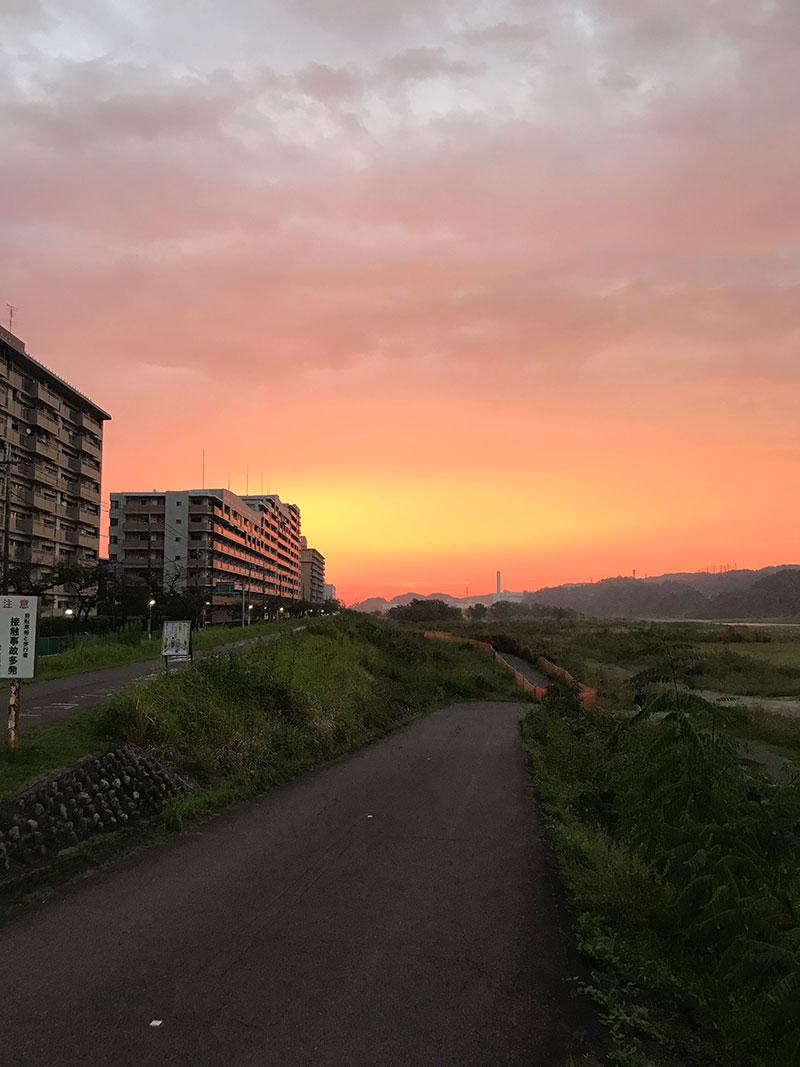 日の出の時間